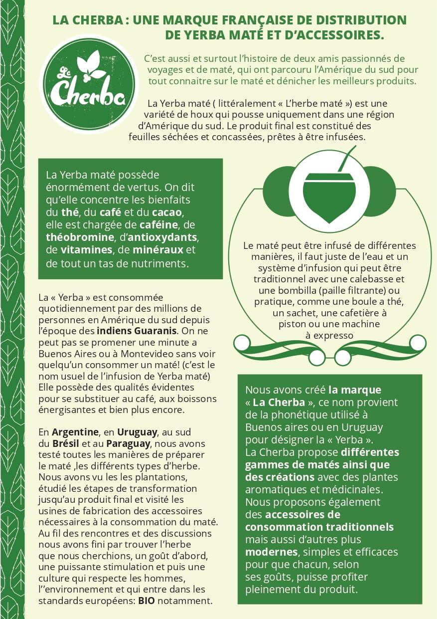 Notre Histoire - La Cherba
